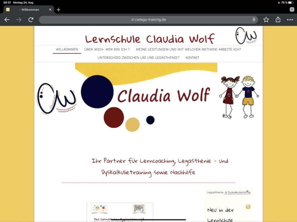 Claudia Wolf
